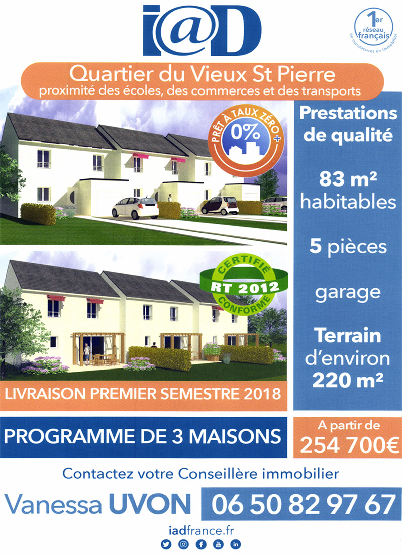 Maison neuve Saint-Pierre du Perray (Essonne - 91)