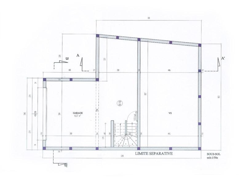 Plan De Maison  ArtechConstructions