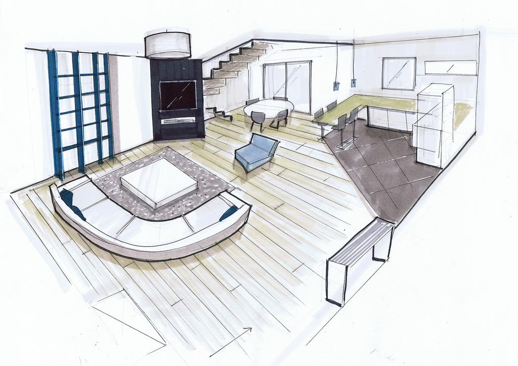dessiner l interieur d une maison en perspective ventana blog. Black Bedroom Furniture Sets. Home Design Ideas