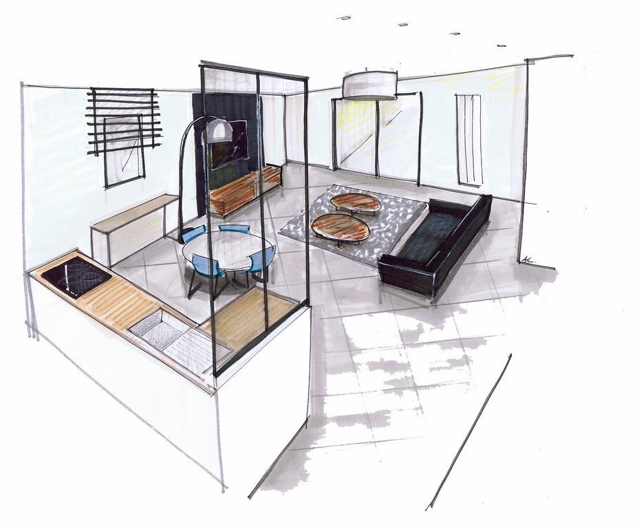 Plans de maison - Perspectives en 3D par Artech Constructions
